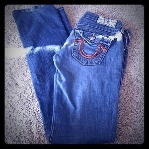 TR straight Leg jeans